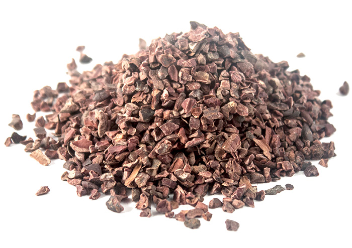 17273332 - raw cacao  organic crushed - photo